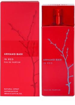 Armand Basi In Red Eau de Parfum για γυναίκες 100 μλ