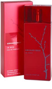 Armand Basi In Red Eau de Parfum voor Vrouwen  100 ml