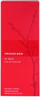 Armand Basi In Red eau de parfum pentru femei 100 ml