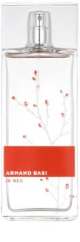 Armand Basi In Red eau de toilette pentru femei 100 ml