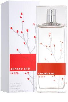 Armand Basi In Red Eau de Toilette für Damen 100 ml