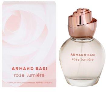 Armand Basi Rose Lumiere Eau de Toilette for Women 100 ml