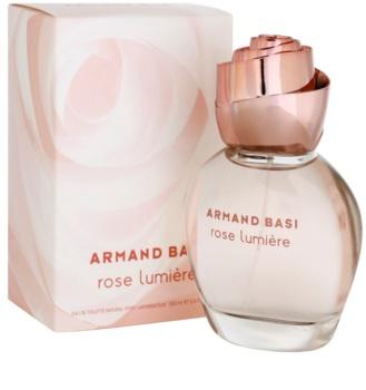Armand Basi Rose Lumiere Eau de Toilette voor Vrouwen  100 ml