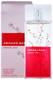 Armand Basi Sensual Red Eau de Toilette Damen 100 ml