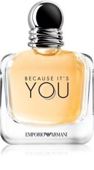 Armani Emporio Because It's You Eau de Parfum voor Vrouwen  100 ml