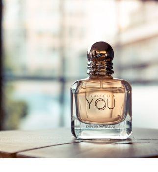 Armani Emporio Because It's You Eau de Parfum para mulheres 100 ml
