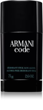 Armani Code Deodorant Stick for Men 75 g