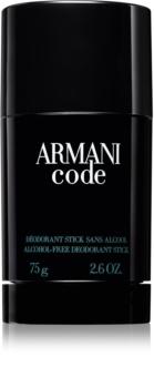 Armani Code deostick pre mužov 75 g
