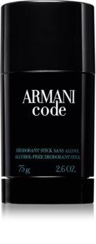 Armani Code deostick pro muže 75 ml