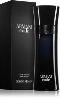 Armani Code Eau de Toilette Herren 125 ml