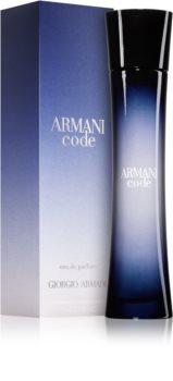 Armani Code Eau de Parfum para mulheres 75 ml