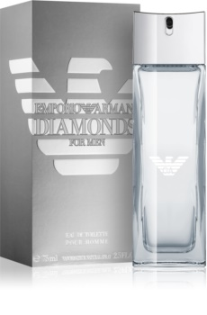 Armani Emporio Diamonds for Men Eau de Toilette para homens 75 ml