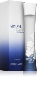 Armani Code Summer Pour Femme 2010 toaletní voda pro ženy 75 ml