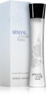 Armani Code Luna Eau de Toilette voor Vrouwen  75 ml