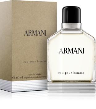 Armani Eau Pour Homme Eau de Toilette para homens 100 ml