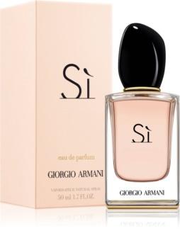 Armani Sì  eau de parfum para mujer 50 ml