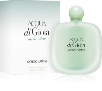 Armani Acqua di Gioia Eau de Toilette voor Vrouwen  100 ml