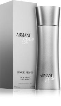 Armani Code Ice eau de toilette férfiaknak 125 ml
