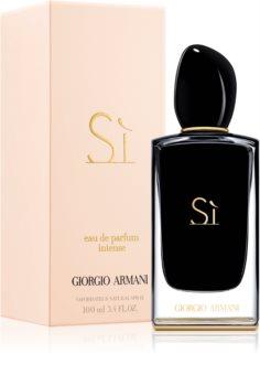 Armani Sì  Intense Eau de Parfum für Damen 100 ml
