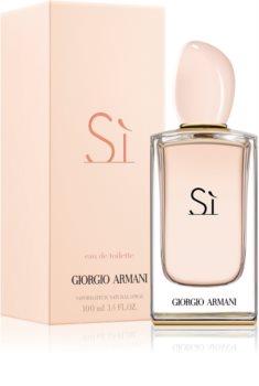 Armani Sì  eau de toilette para mujer 100 ml
