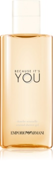 Armani Emporio Because It's You gel douche pour femme 200 ml