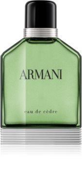 Armani Eau de Cèdre eau de toilette pentru bărbați 100 ml