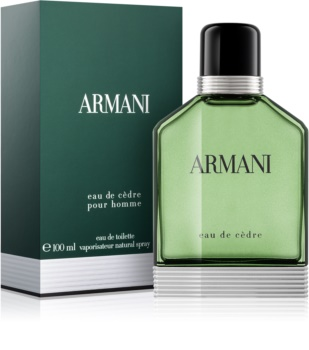Armani Eau de Cèdre toaletna voda za muškarce 100 ml