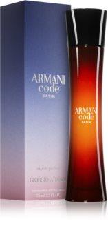 Armani Code Satin Eau de Parfum voor Vrouwen  75 ml