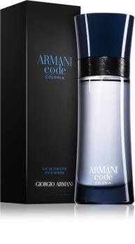 Armani Code Colonia toaletna voda za moške 125 ml
