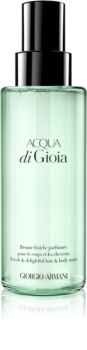 Armani Acqua di Gioia Body Spray for Women 140 ml and Hair Spray