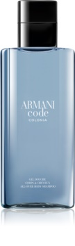 Armani Code Colonia τζελ για ντους για άντρες 200 μλ