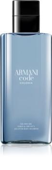 Armani Code Colonia gel douche pour homme 200 ml