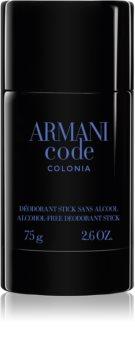Armani Code Colonia Deodorant Stick for Men