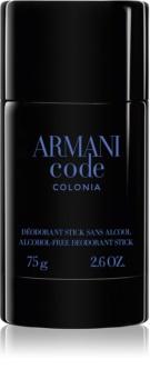Armani Code Colonia déodorant stick pour homme