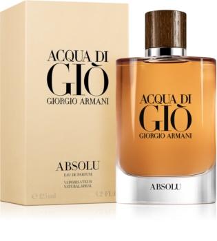 Armani Acqua di Giò Absolu eau de parfum per uomo 125 ml
