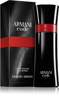 Armani Code A-List Eau de Toilette for Men 75 ml