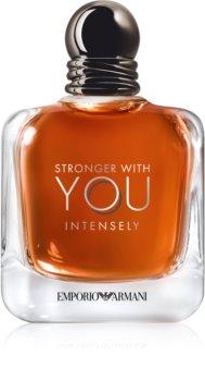 Armani Emporio Stronger With You Intensely eau de parfum voor Mannen  100 ml