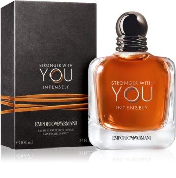 Armani Emporio Stronger With You Intensely eau de parfum férfiaknak 100 ml