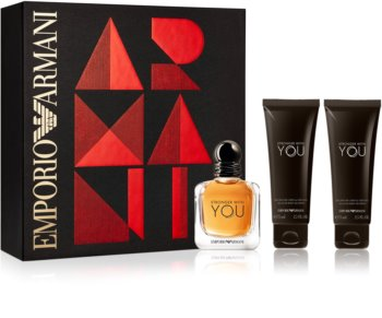 Armani Emporio Stronger With You coffret cadeau II.