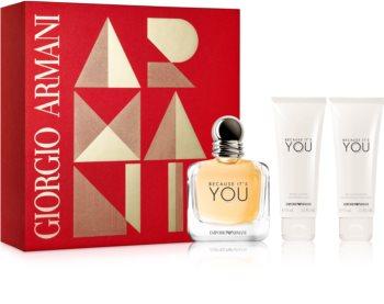 Armani Emporio Because It's You set cadou I.