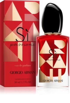 Armani Sì  Passione Eau de Parfum for Women 50 ml Limited Edition