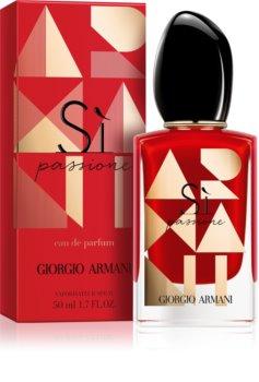 bd226544981 Armani Sì Passione eau de parfum para mulheres 50 ml edição limitada