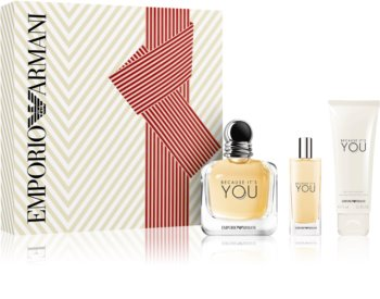 Armani Emporio Because It's You poklon set I. za žene