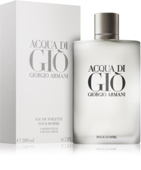 Armani Acqua di Giò Pour Homme Eau de Toilette for Men 200 ml