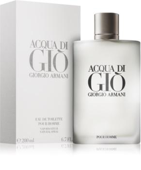 Armani Acqua di Giò Pour Homme Eau de Toilette für Herren 200 ml