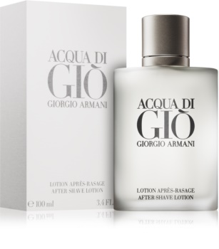 Armani Acqua di Giò Pour Homme After Shave Lotion for Men 100 ml