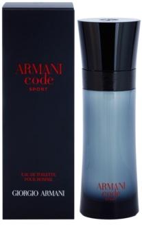 Armani Code Sport Eau de Toilette voor Mannen 75 ml