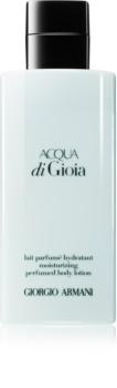 Armani Acqua di Gioia leite corporal para mulheres 200 ml