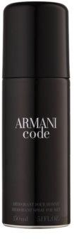 Armani Code Deo Spray voor Mannen 150 ml