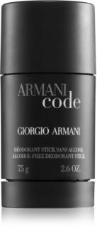 Armani Code déodorant stick pour homme 75 g